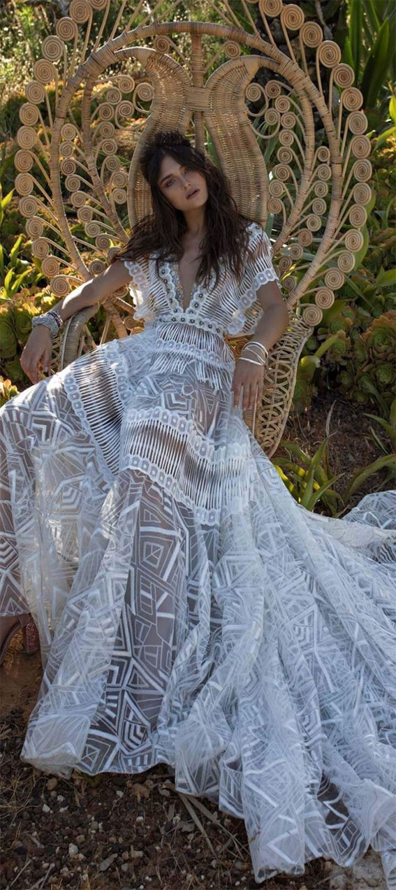 38 Romantic Boho Wedding Dresses To Inspire You