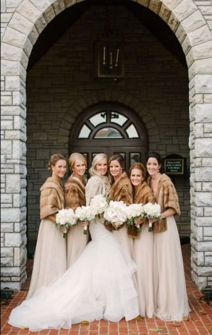 12 Gorgeous winter colors for bridesmaid dresses
