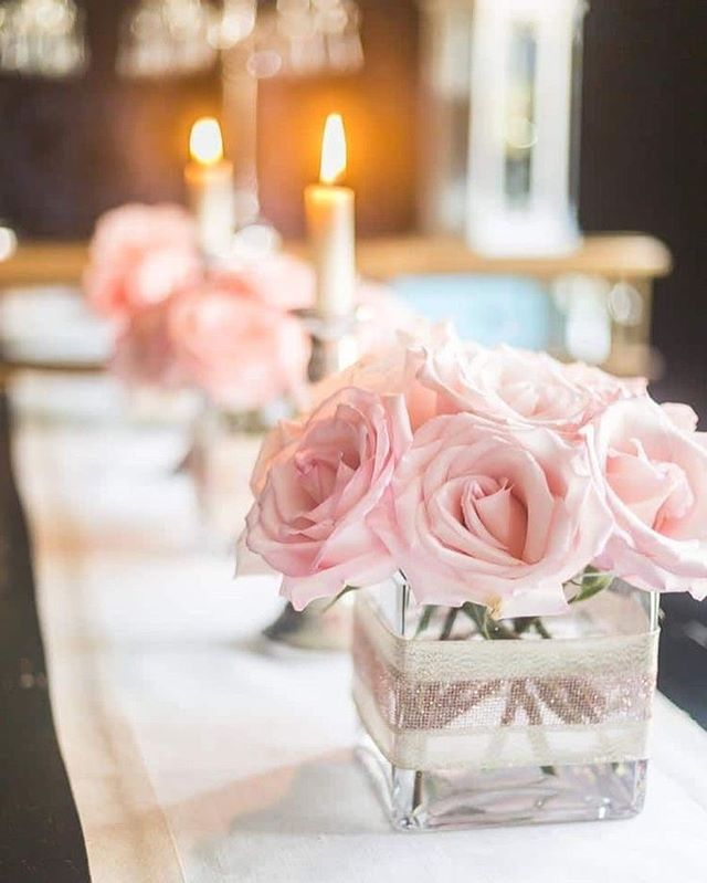 49 Spring 2020 Wedding Ideas – blush wedding centerpieces