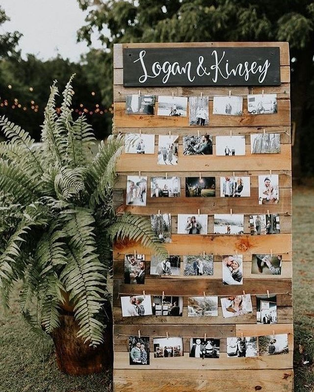 49 Spring 2020 Wedding Ideas – wedding photo displays