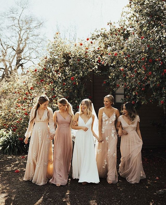 49 Spring 2020 Wedding Ideas – Spring Bridesmaids