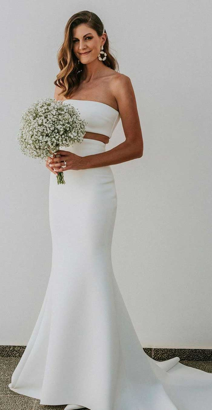 Beach Wedding Dresses Perfect For A Destination Wedding