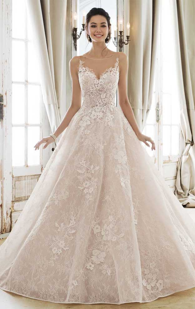 Beautiful wedding dresses 2020 for elegant brides