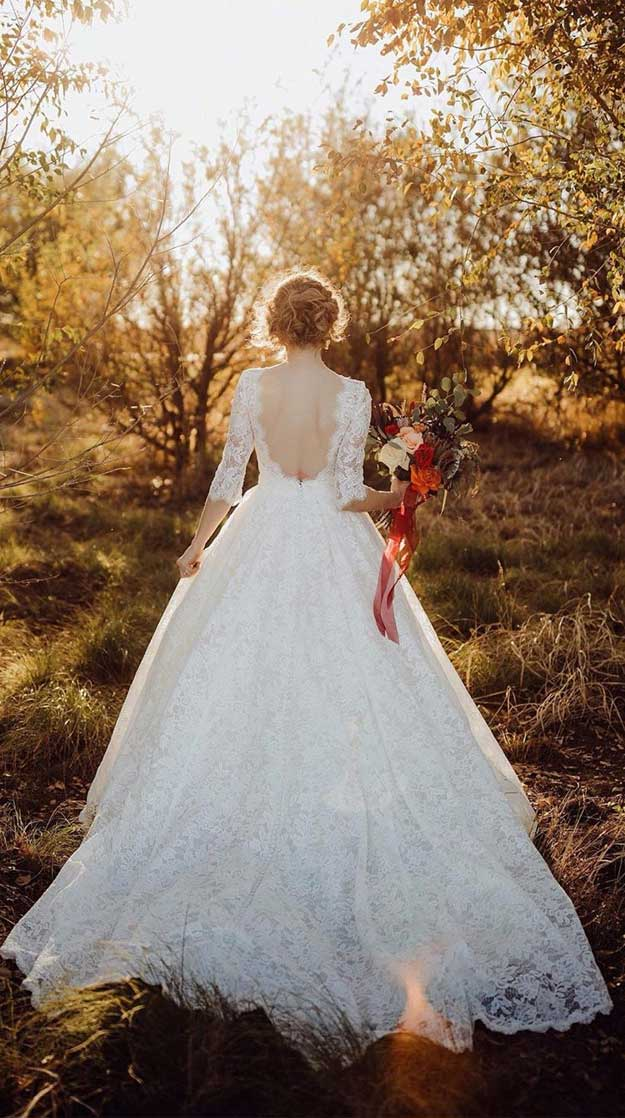The perfect wedding dresses for a rustic wedding