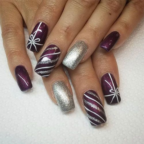70 Pretty Festive and Winter Nail Art Designs – page 31