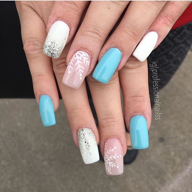 Stunning Winter Nail Art Designs – Page 14