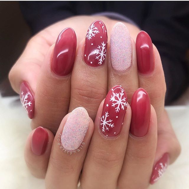Stunning Winter Nail Art Designs – Page 25