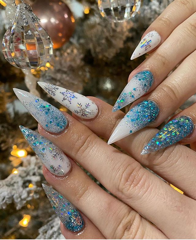 Stunning Winter Nail Art Designs – Page 23