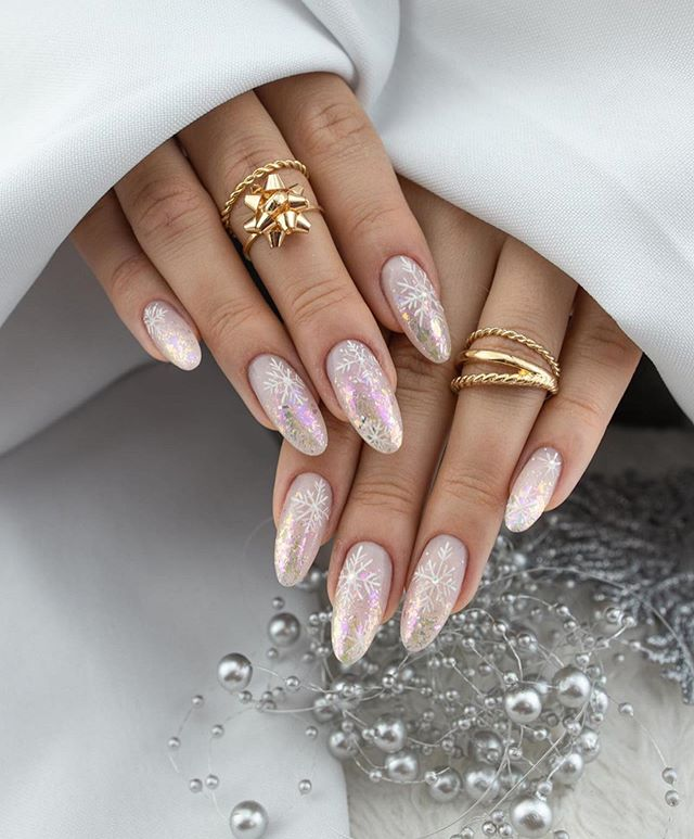 Stunning Winter Nail Art Designs – Page 22