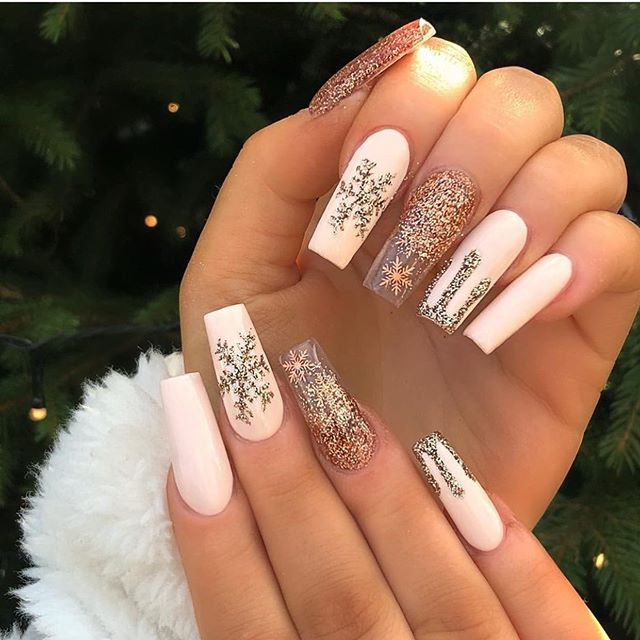 Stunning Winter Nail Art Designs – Page 21