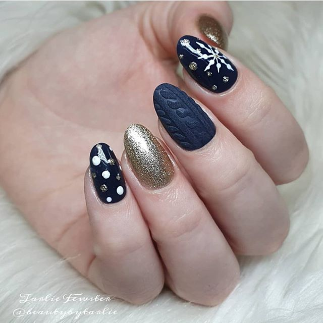 Stunning Winter Nail Art Designs – Page 35