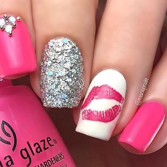 Best Nail Art Ideas For Valentines 2020 – 17