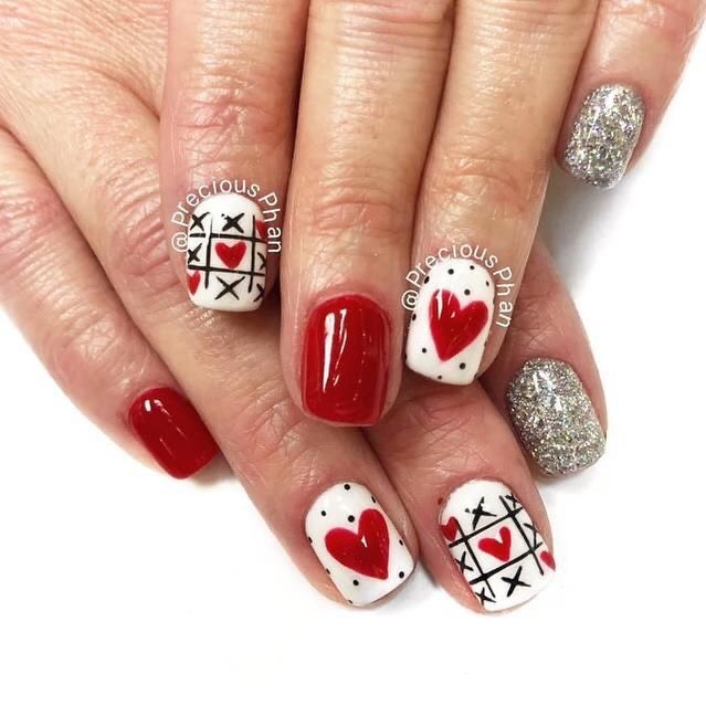 Best Nail Art Ideas For Valentines 2020 – 16