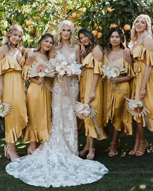 Bridesmaid trends 2020 that are fabulous 18