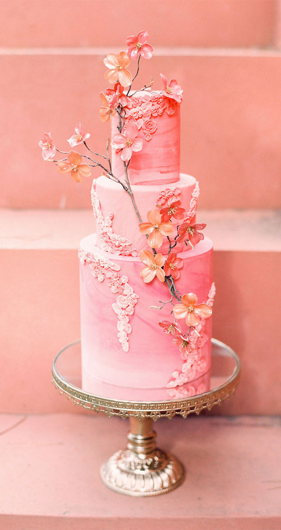 9 The perfect spring wedding cakes