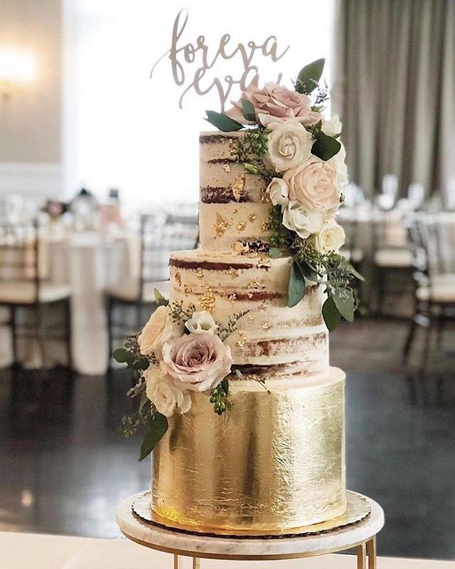 Beautiful Wedding Cake Trends For 2020 – 6
