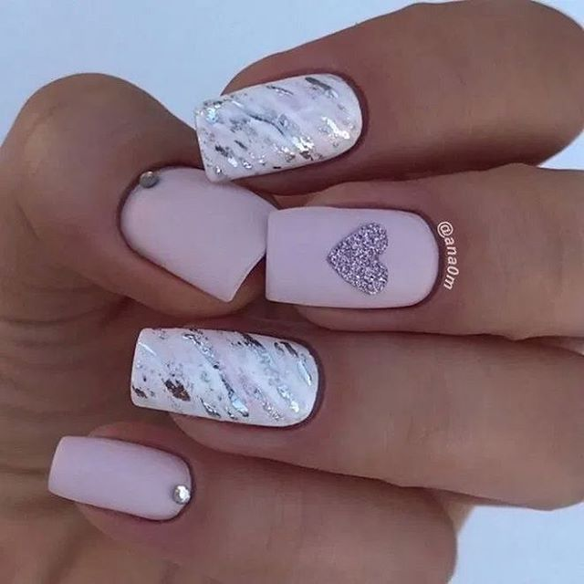 Best Nail Art Ideas For Valentines 2020 – 11