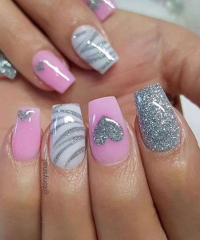 Best Nail Art Ideas For Valentines 2020 – 3