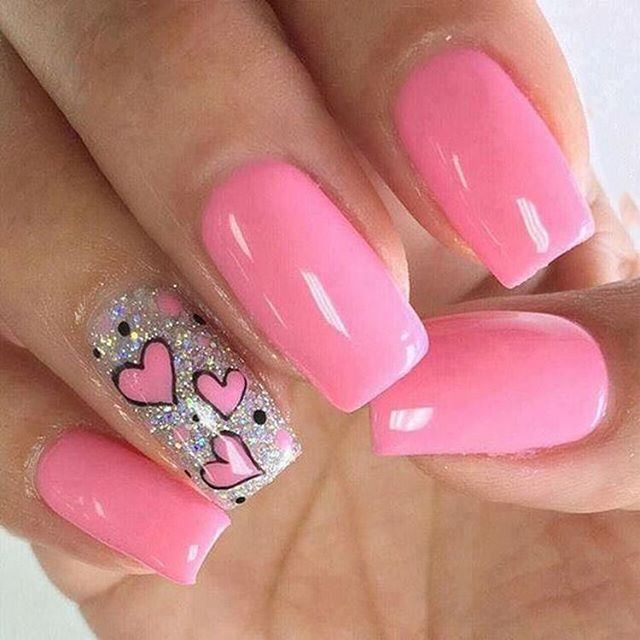 Best Nail Art Ideas For Valentines 2020 – 12