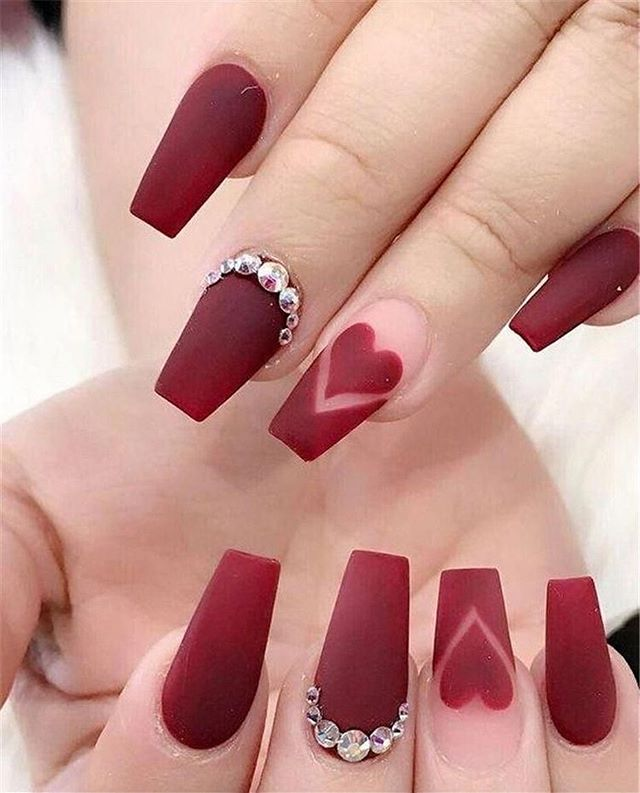 Best Nail Art Ideas For Valentines 2020 – 32