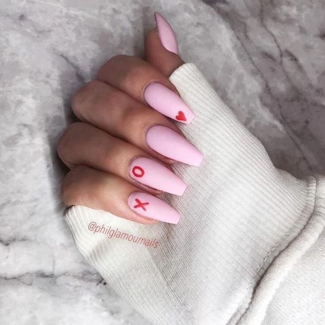 Best Nail Art Ideas For Valentines 2020 – 33