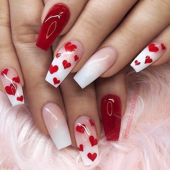 Best Nail Art Ideas For Valentines 2020 – 34