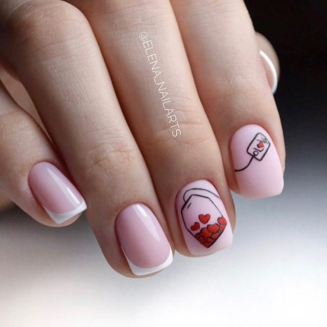 Best Nail Art Ideas For Valentines 2020 – 23