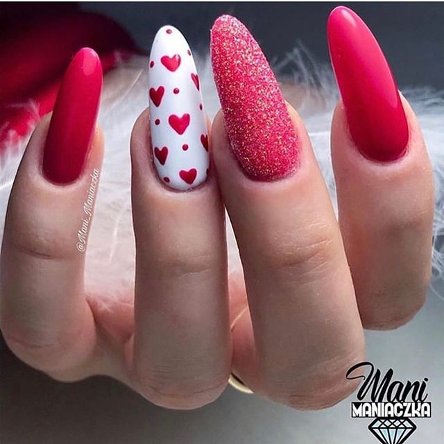 Best Nail Art Ideas For Valentines 2020 – 25