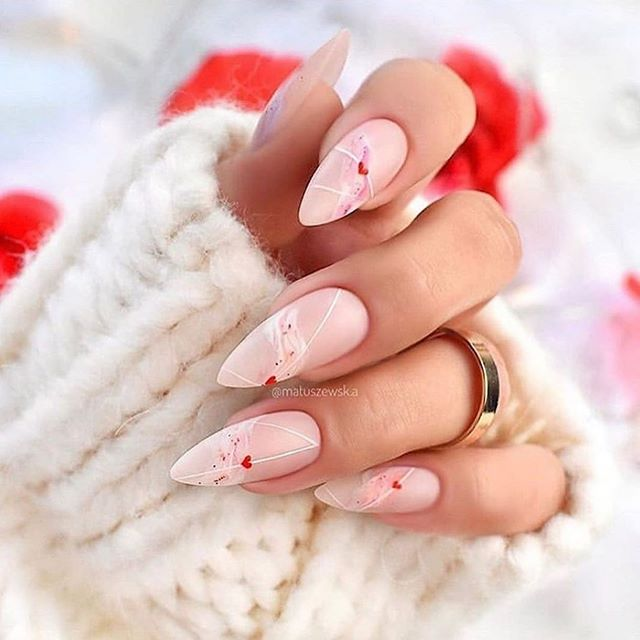 Best Nail Art Ideas For Valentines 2020 -27