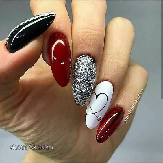 Best Nail Art Ideas For Valentines 2020 – 28