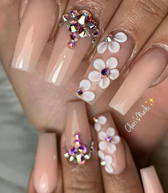100 Gorgeous Spring Nail Trends And Colors – Page 75