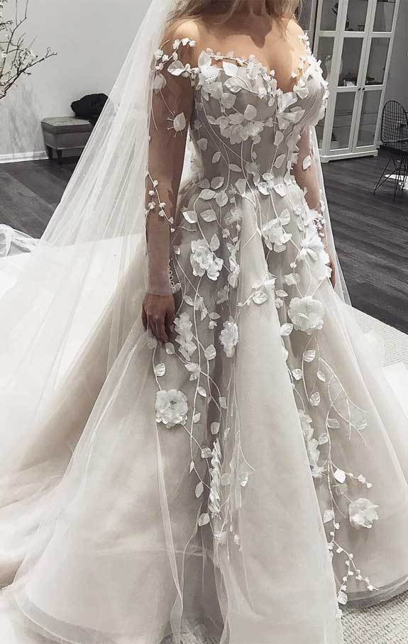 The Most Incredibly Beautiful Wedding Dresses