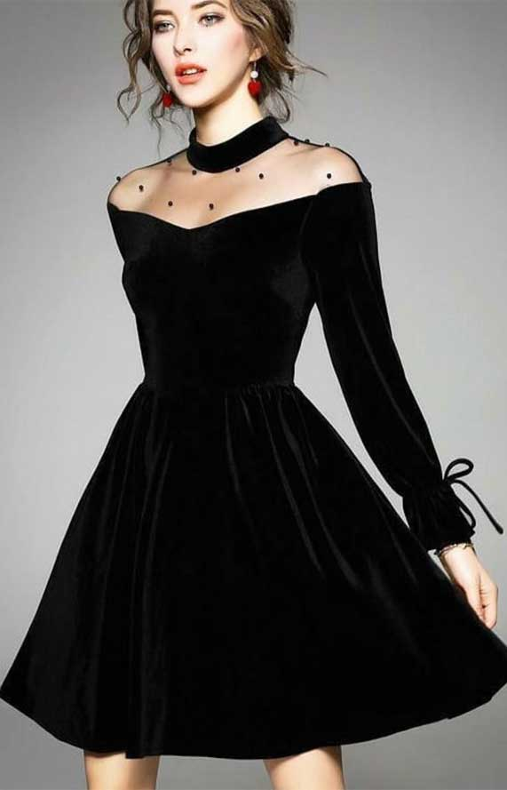 41 Stunning black dresses that you should have in your closet – 10
