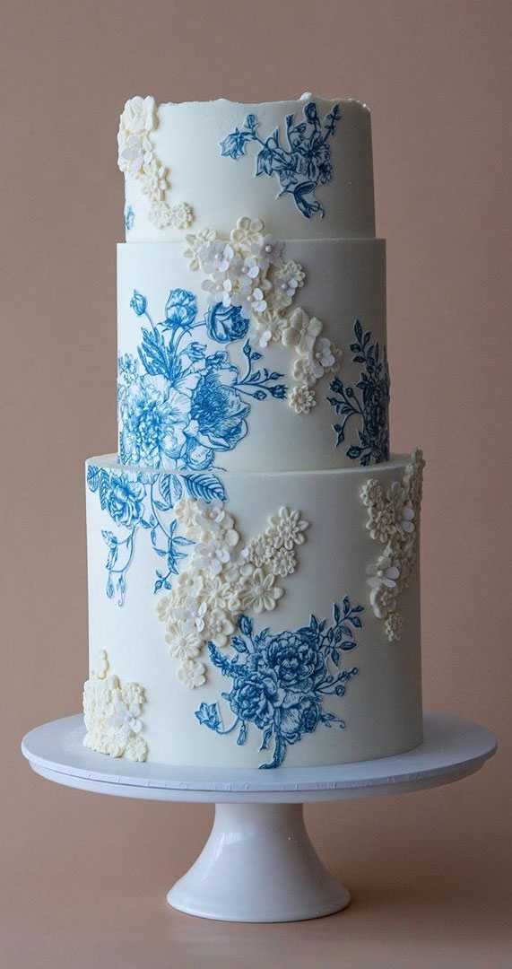 4 Beautiful and Unique wedding cakes