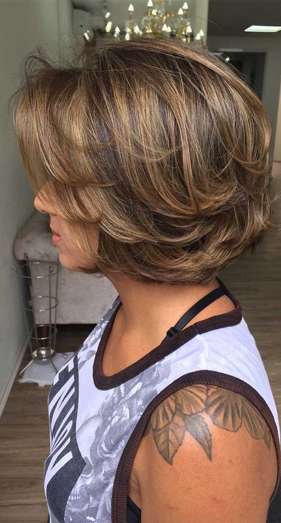 3 Short wavy haircuts and hairstyles