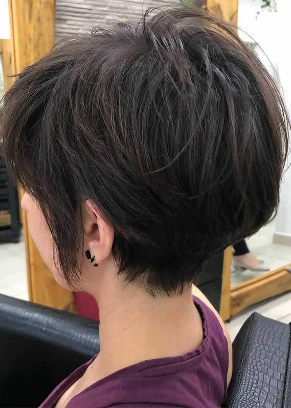 4 Short Layered Haircuts with Voluminous