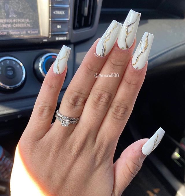 Best nail art designs to try this spring & summer 2020 – 41