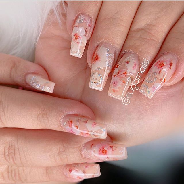 Best nail art designs to try this spring & summer 2020 – 39