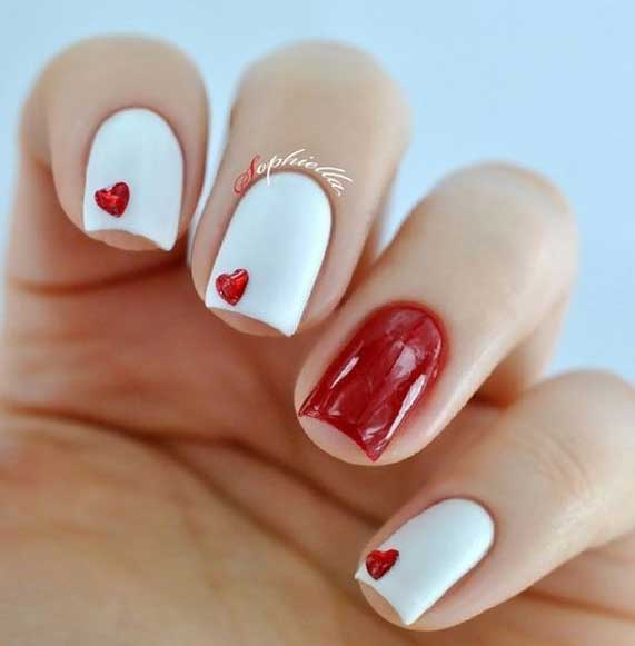 Best Nail Art Ideas For Valentines 2020 – 41