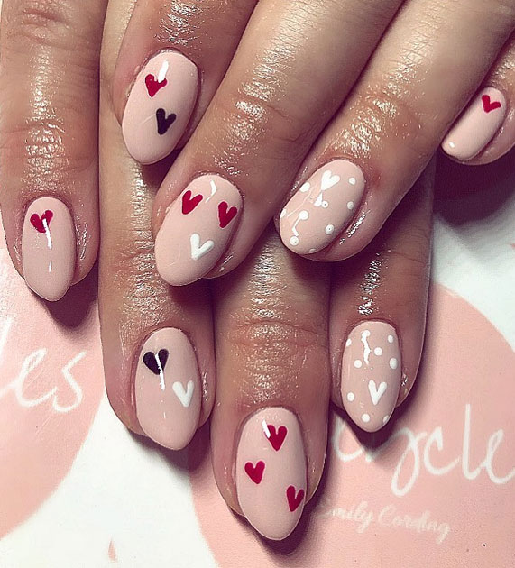 Best Nail Art Ideas For Valentines 2020 – 52