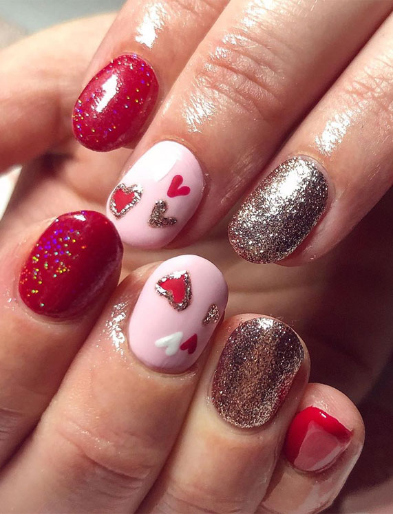 Best Nail Art Ideas For Valentines 2020 – 53