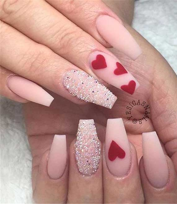 Best Nail Art Ideas For Valentines 2020 – 45
