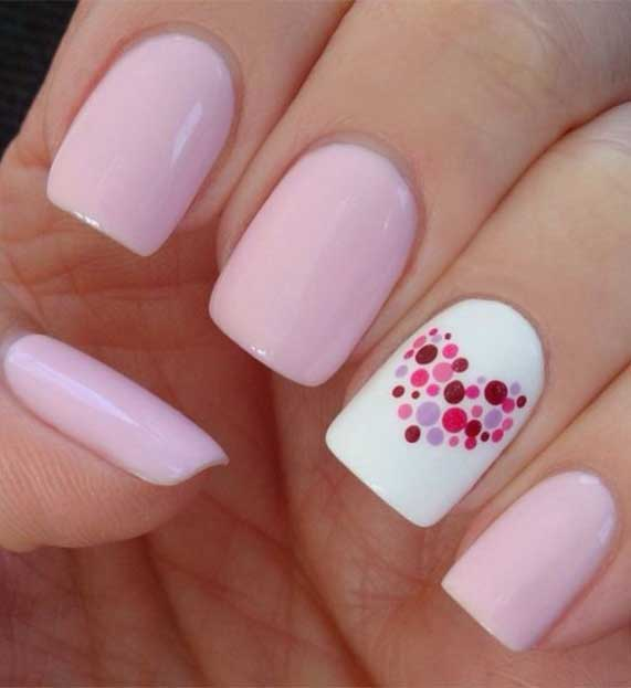 Best Nail Art Ideas For Valentines 2020 – 40