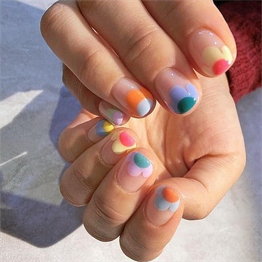 Pretty in Pastel nail colors & designs to try this season