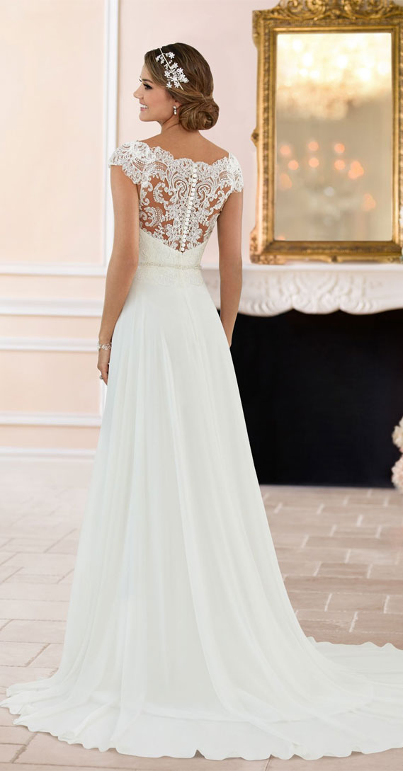 8 Gorgeous Country Style Wedding Dresses