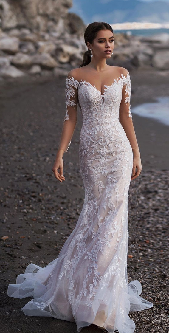 The perfect wedding dress for beach wedding 98