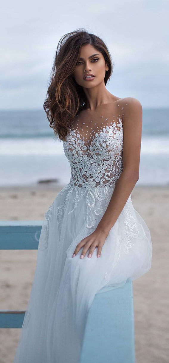 The perfect wedding dress for beach wedding 100